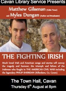 Fighting Irish Cavan Poster
